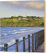 Tramore County Waterford Wood Print