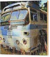 Transit Bus2 Wood Print