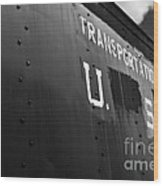 Transportation Corps Car Wood Print