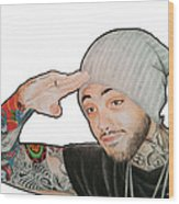 Travie Mccoy Wood Print