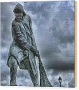 Trawlermens Memorial 2 Wood Print