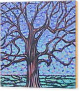 Tree #2 Wood Print
