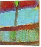 Tree Abstract 1 Wood Print