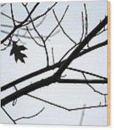 Tree Art Two Wood Print