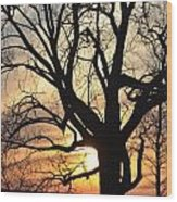 Tree Art Wood Print
