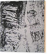 Tree Bark IIi Wood Print