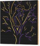 Tree Dancers Wood Print by Shane Robinson