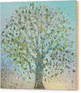 Tree In Autumn Wood Print