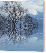 Tree Of Life Wood Print by Sharon Lisa Clarke
