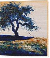 Tree Study 4 Wood Print