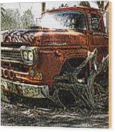 Tree Truck Wood Print