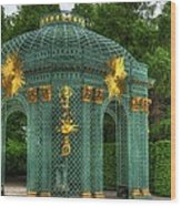 Trellis At Schloss Sanssouci Wood Print