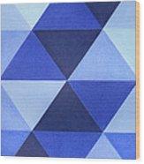 Triangles B8001 Wood Print