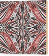 Tribe1 Wood Print