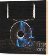 Triboluminescence Wood Print