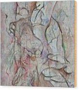 Tribulations Wood Print by David  Beers