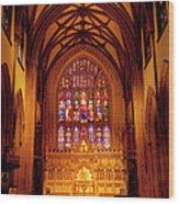 Trinity Church Wood Print