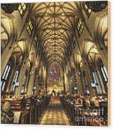 Trinity Church Nyc Wood Print