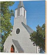 Trinity Episcopal Church I Wood Print