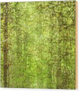 Triptico Pinares Wood Print