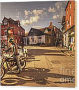 Triumph In Much Wenlock  Wood Print