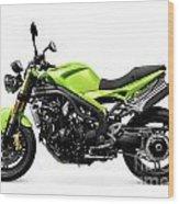 Triumph Speed Triple Motorcycle Wood Print
