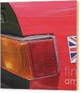 Triumph Tr6 Tail Light Wood Print