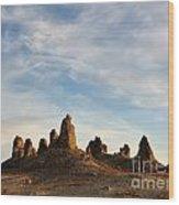 Trona Pinnacles 3 Wood Print