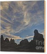 Trona Pinnacles 6 Wood Print