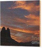 Trona Pinnacles 7 Wood Print
