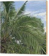 Tropical Days Wood Print