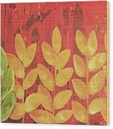 Tropical Foliage Wood Print