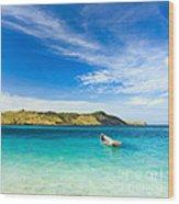 Tropical Island Wood Print