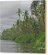 Tropical Jungle Wood Print
