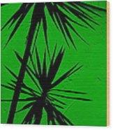 Tropical Splash Wood Print