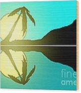 Tropical Sunrise Number 5 Wood Print