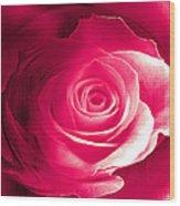 True Love Amore Vero Wood Print