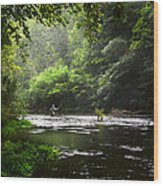 True Serenity Wood Print
