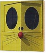 Truly Nolen Rat Wood Print