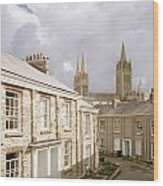 Truro Cathedral Wood Print