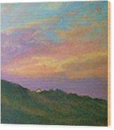 Truro Sunset  Wood Print