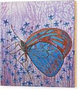 Trust Butterfly Wood Print
