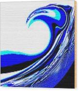 Tsunami Swell Wood Print