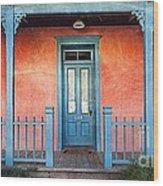 Tucson Front Porch Wood Print