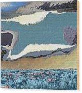 Tucson Sky Wood Print