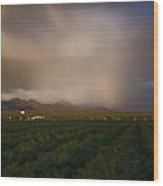 Tucson's Promise Wood Print by Keith Sanders