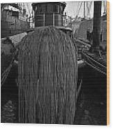 Tugboat Wood Print