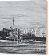 Tugboat Turecamo Girls II Wood Print