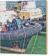 Tugs Wood Print