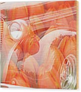 Tulip Car Abstract Wood Print